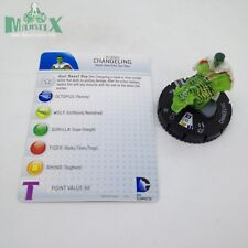 Heroclix Teen Titans set Changeling #038 Rare figure w/card!