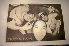 Large 24x34 Beastie Boys B&W Black & White Poster Made in England Good Condition