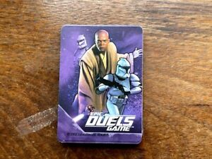Star Wars Epic Duels Game Replacement Cards Mace Windu Missing 1 Card (30)