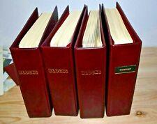 Europa: Schöne Sammlung Blockausgaben 80er in 4 Alben aus Nachlassauflösung