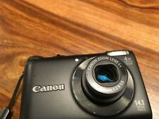Canon - Powershot A2200 HD - Compact Digital Camera - Black - SD Card - Case