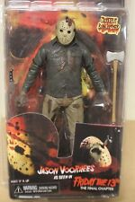 Jason Voorhees viernes el 13th Final Capítulo Batalla Dañado NECA Action Figure
