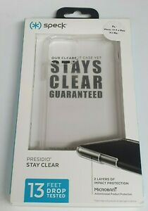 Speck Case Presidio Stay Clear for iPhone 11 Pro Max - Clear