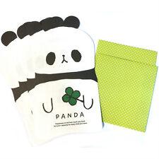 Cute Animal Panda Friends Writing Letter Paper Set : 4 Letter Sheets 2 Envelopes