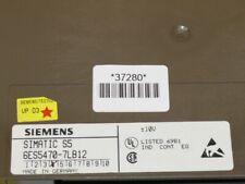 Siemens 6ES5470-7LB12 Simatic S5 6ES5 470-7LB12 E :0 3