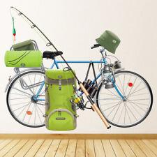 Wędkarstwo Rower Naklejka Na ścianę WS-44573