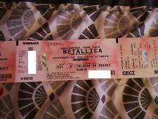 Metallica 12 mai Paris concert stade France Or Pelouse 🤘 Metallica 12 mai Paris