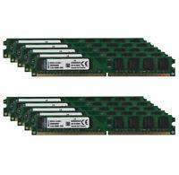For Kingston 10X 2GB 2Rx8 PC2-6400U DDR2 800Mhz DIMM Memory RAM Desktop 240Pin #