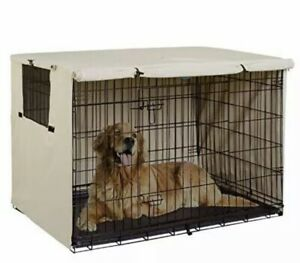 """Explore Land 36"""" Dog Crate Cover, Durable Polyester Pet Kennel Cover U..."""