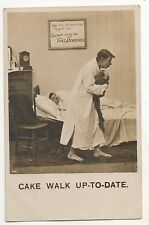 Cake Walk Up-To-Date, Illness, Sick - Vintage 1906 Postcard4.49