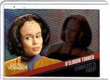 Star Trek Voyager Quotable F6 B,Elanna Torres Starfleets Finest 285/399 card