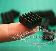 Bulk 10PCS 14*14*7mm Black Aluminum Heatsink Chip For IC LED Power Transistor