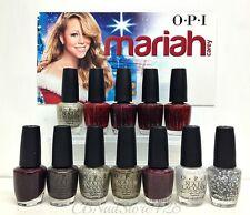 OPI - MARIAH CAREY Holiday Collection - All 12 Shades x 0.5oz HL E05-E16