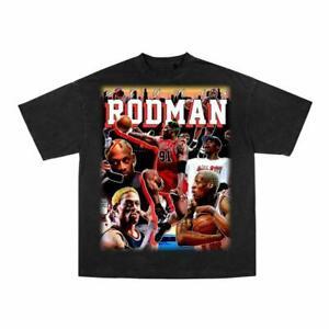 Chicago Bulls Vintage Dennis Rodman Basketball Shirt Funny Vintage Gift For Men