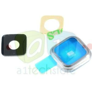 New Genuine Camera Lens Cover Glass Frame Replacement Part For Samsung Galaxy S5