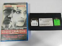 CONSPIRATION FILM BANDE VHS COLLECTEUR DE MEL GIBSON JULIA ROBERTS