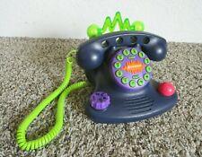 Vtg 1997 Nickelodeon Talk-Blaster Telephone N2500 Lights Multi Ringer Fun