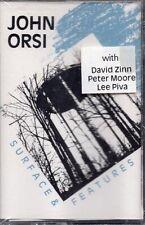Rare John Orsi Cassette Ep Surface & Features - 1989 Experimental Ambient