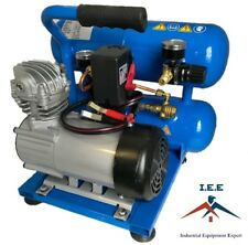 Twin Tank 1 HP 2 Gal 12 Volt Puma Compressor New PD-1021