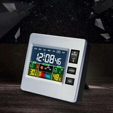 Lcd Digital Backlight Multifunctional Thermometer Hygrometer Weather Alarm Clock