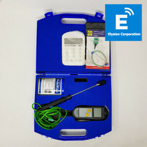 ETI Legionnaires' Water Temperature Thermometer Testing Kit - Boxed - Fast P&P