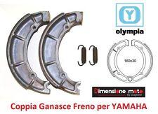 "58045 - Coppia Ganasce Freno ""OLYMPIA"" per YAMAHA YP 250 Majesty dal 1996 - 1998"