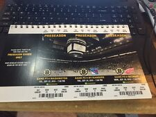 2015-16 BOSTON BRUINS NHL TICKET STUB PICK YOUR GAME BERGERON RASK CHARA KRECJI