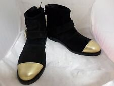 H&M Balmain Welted Ankle Boots In Suede UK 5 EU 38 JS16 44 SALEw