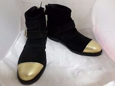 H&M Balmain Welted Ankle Boots In Suede UK5 EU38 JS16 44