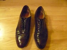 Johnston & Murphy Brown Heritage Wing Tip Lace Up Men's Dress 13 Shoes
