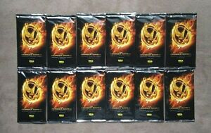 (12) NECA The Hunger Games Premium Trading Cards Sealed Packs Lot ~ 6 Cards Each