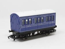 [NF3-025]  HORNBY RAILWAY 00 R. 213 GWR 4 WHEEL COACH (BLUE) MADE IN CHINA
