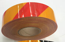 2902 High Intensity Retro-reflective Tape Class 1 - Red / Yellow - 48mm x 45.7m