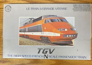 Bachmann N scale TGV set Le Train à Grande Vitesse Trains Still In Shrink Wrap