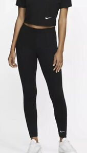 Nike Women Club LBR Legging -Black