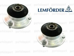 BMW OEM LEMFORDER Set of 2 Strut Mounts with Bearing (Front Left + Right)