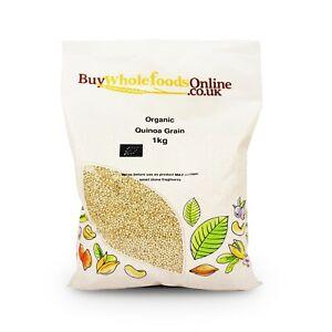Organic Quinoa Grain 1kg   Buy Whole Foods Online   Free UK Mainland P&P