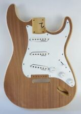 Build Your Own Brand New Strat Style Guitar Kit with Veneer & Wilkinson Pickups