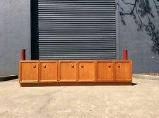 *MASSIVE* PARKER TEAK Cocktail Bar MID CENTURY Retro SIDEBOARD BUFFET Wall Unit