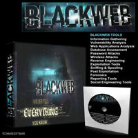 """BLACKWEB """"UNLEASHED"""" 2020 - PC Hacking Tools - Operating System any Computer DVD"""
