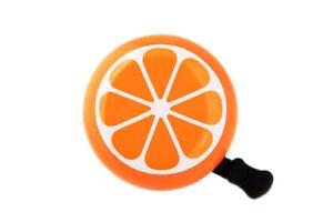 New Orange Bike Bicycle Cycle Bell MTB Road City Tangerine Mandarin Kid Gift