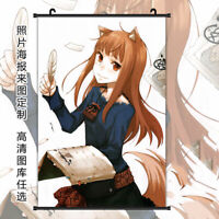 Anime Spice and Wolf Holo Home Decor Poster Wall Scroll Cosplay 60*90cm#12-116