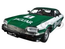 1975 JAGUAR XJS COUPE RACING GREEN #1 1/18 MODEL CAR BY ROAD SIGNATURE 92658