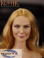 "1/6 Scale Female Head Sculpt KUMIK For 12"" Hot Sideshow Toys TTL HT Body KM16-10"