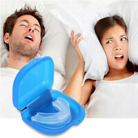 STOP BRUXISM ANTI SNORING DEVICE SLEEP AID MOUTH PIECE GUARD TEETH GRINDING