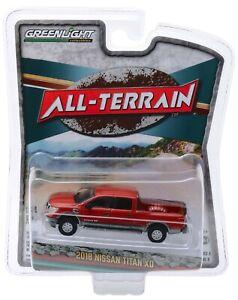 1:64 GreenLight *ALL-TERRAIN R8* Copper 2018 Nissan Titan XD Pickup Truck NIP