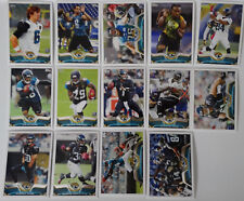 2013 Topps Jacksonville Jaguars Team Set of 14 Football Cards