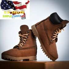 VStoys 1/6 scale men classic brown work boots for phicen hot toys ganghood ❶USA❶