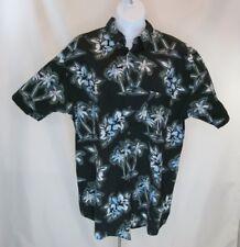 Mens Pineapple Connection Hawaiian Shirt Sz 2XLT Blue Short Sleeve Button Fr
