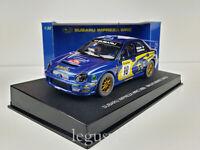 Slot Car Scalextric AUTOart 13002 Subaru Impreza WRC #10 Montecarlo '02 Makinen